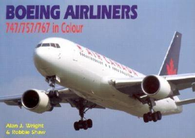 Paperback Boeing Airliners: 747/757/767 in Colour Book