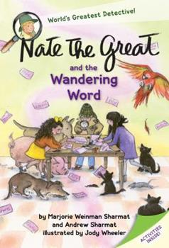 Nate the Great and the Wandering Word 1524765449 Book Cover