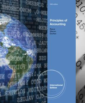 Principles of Accounting 0538478942 Book Cover