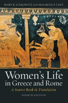 Women's Life in Greece and Rome: A Source Book in Translation 0801844754 Book Cover