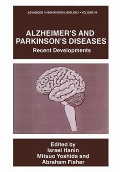 Paperback Alzheimer's and Parkinson's Diseases: Recent Developments Book