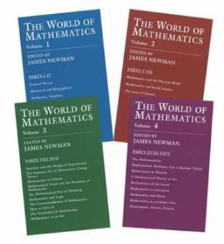 The World of Mathematics, 4 Vols 1556151489 Book Cover