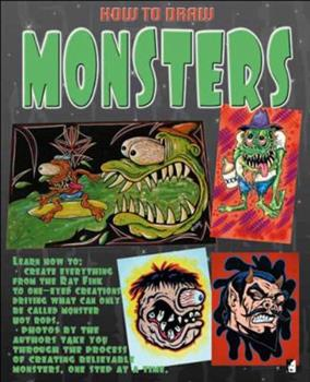 Paperback How to Draw Monsters Book