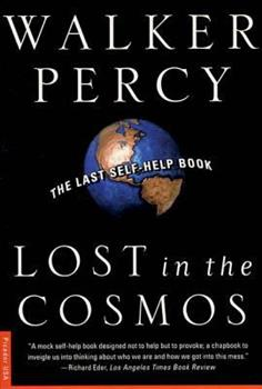 Lost in the Cosmos: The Last Self-Help Book 0671502735 Book Cover