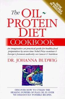 Paperback The Oil-Protein Diet Cookbook Book