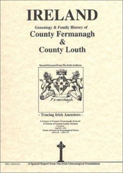 Spiral-bound County Fermanagh & Louth Genealogy & Family History Notes Book
