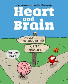 Paperback Heart and Brain, 1: An Awkward Yeti Collection Book