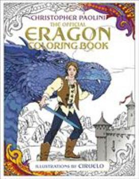 The Official Eragon Coloring Book 1524718742 Book Cover
