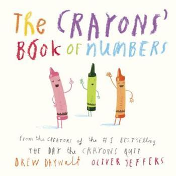 El Libro de Los Numeros de Los Crayones - Book  of the Crayons