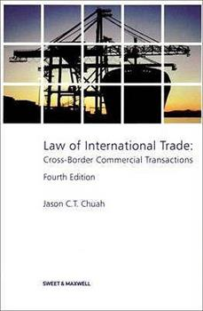 Paperback Law of International Trade Book