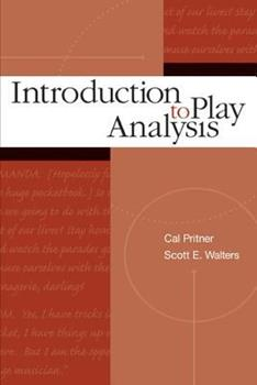 Introduction to Play Analysis 0072500328 Book Cover