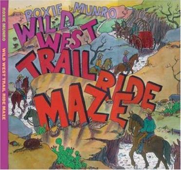 Hardcover Wild West Trail Ride Maze Book