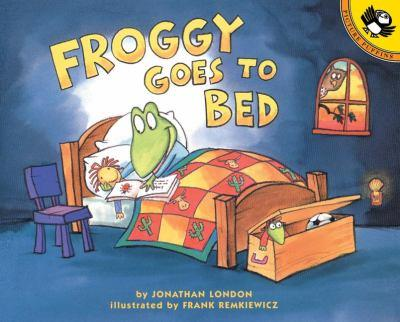 Froggy Goes to Bed - Book  of the Froggy