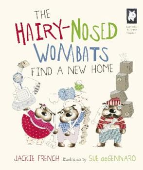 Hardcover The Hairy-nosed Wombats Find a New Home Book