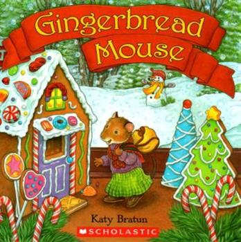 Paperback Gingerbread Mouse Book
