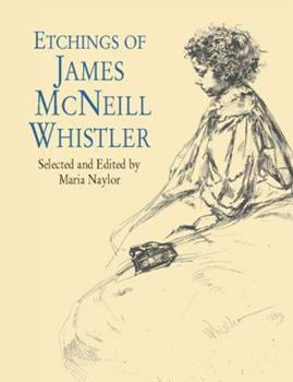Paperback Etchings of James McNeill Whistler Book