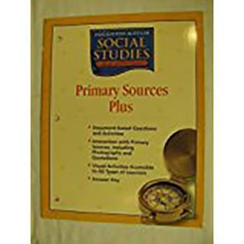 Hardcover Houghton Mifflin Social Studies: Prim Sor Pls Blm L5 Us Hist Us History Book