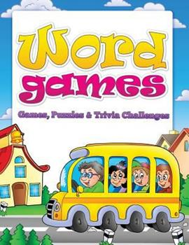 Paperback Word Games (Games, Puzzles and Trivia Challenges) Book