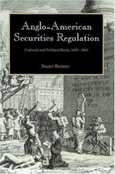 Anglo-American Securities Regulation 0521521130 Book Cover