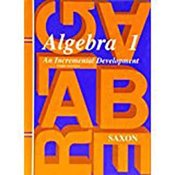 Hardcover Algebra 1 Book