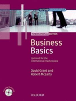 Business Basics Student Book: International Edition 0194577805 Book Cover