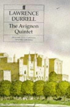 The Avignon Quintet 0571163289 Book Cover