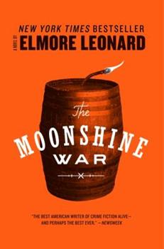 The Moonshine War 0440158079 Book Cover
