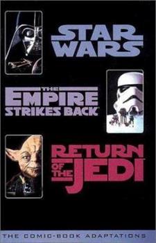 Paperback Star Wars Trilogy Comic Book Adaptation Book