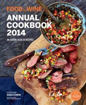 Food & Wine: Annual Cookbook 2014 1932624635 Book Cover