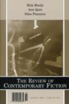 Review of Contemporary Fiction: Summer 2003 1564783367 Book Cover