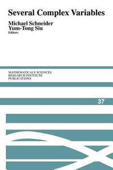 Paperback Several Complex Variables Book