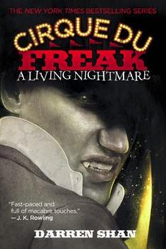 Paperback A Cirque Du Freak: A Living Nightmare Book