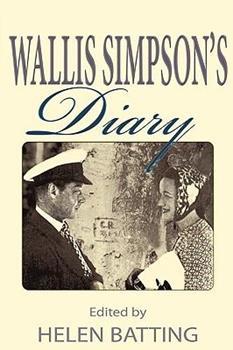 Paperback Wallis Simpson's Diary Book