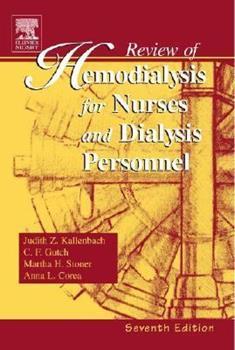 Paperback Review of Hemodialysis for Nurses and Dialysis Personnel (Review of Hemodialysis for Nurses & Dialysis Personnel) Book