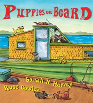 Puppies on Board 1551433907 Book Cover