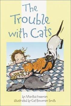 Paperback The Trouble with Cats Book