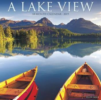 Calendar Lake View 2019 Wall Calendar Book