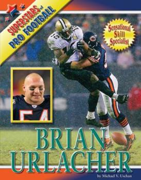 Brian Urlacher - Book  of the Superstars of Professional Football