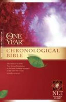 Paperback One Year Chronological Bible-NLT Book