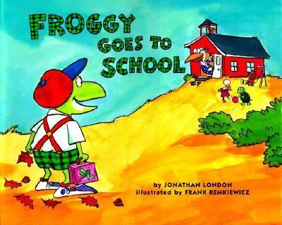 Froggy Goes to School - Book  of the Froggy