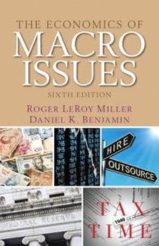 The Economics of Macro Issues 0132991284 Book Cover