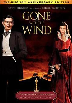 DVD Gone with the Wind Book