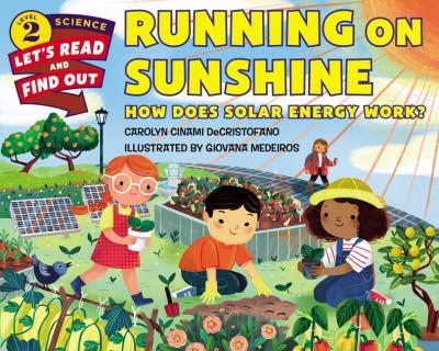 Running on Sunshine: How Does Solar Energy Work? 0062473115 Book Cover