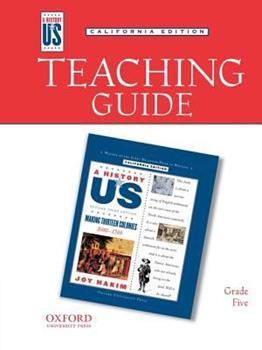 Teaching Guide to Making 13 Colonies Grade 5 3e Hofus (California Edition)