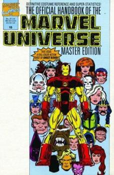 Essential Official Handbook Of The Marvel Universe - Master Edition Volume 2 TPB - Book  of the Essential Marvel