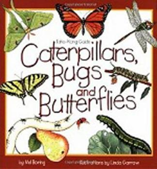 Paperback Caterpillars, Bugs and Butterflies: Take-Along Guide Book