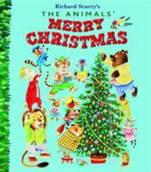 Hardcover The Animals' Merry Christmas Book