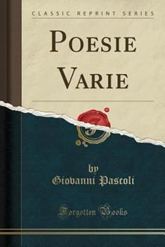 Paperback Poesie Varie (Classic Reprint) (Italian Edition) [Italian] Book