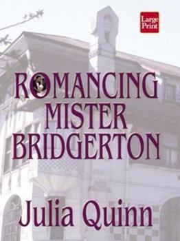 Hardcover Romancing Mister Bridgerton [Large Print] Book