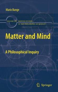 Paperback Matter and Mind: A Philosophical Inquiry Book